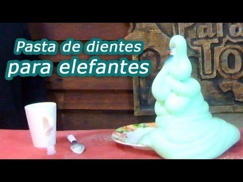 Pasta de dientes para elefantes