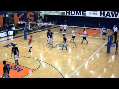 OPRF v. NN 1/3 - 2011 IHSA Varsity Boys Volleyball Quarter Final