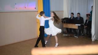 Лиза Быховенко и Влад Бленда - ча-ча-ча.