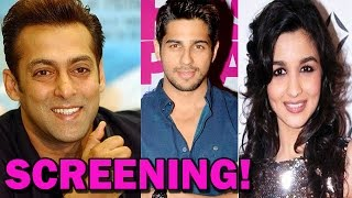 KICK Movie - Bollywood Stars at the Screening! - ZOOMDEKHO