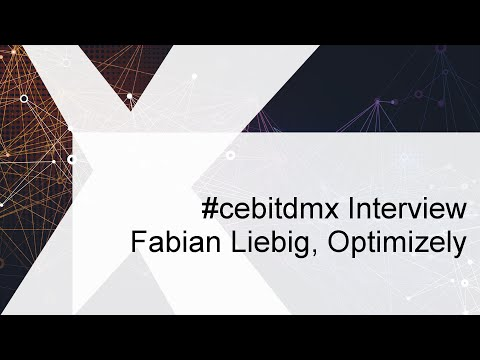 #cebitdmx Interview mit Fabian Liebig, Optimizely