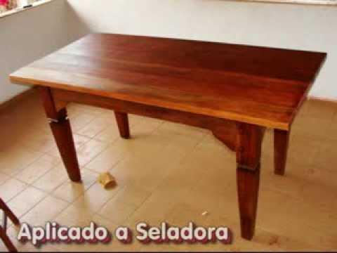 Revitação de móvel - Mesa de madeira