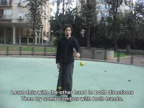 Poi Lesson - Isolated Throws (Horizontal)