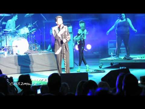 ADAM LAMBERT - Chokehold, *shoes*, Broken English - Pac Amph 7-19-12
