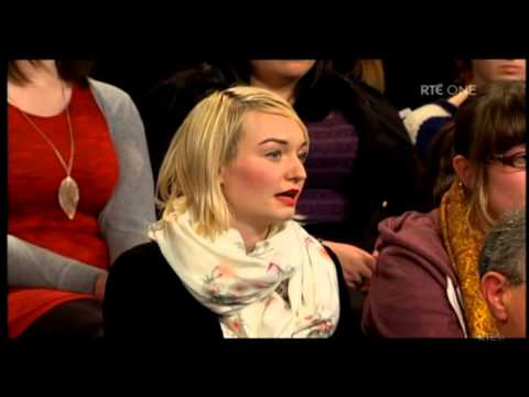 Niki Adams vs criminalising clients on RTE Prime Time 21 January 2014