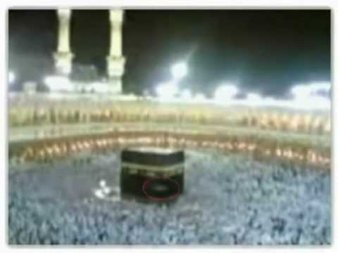 SEE ANGEL ON THE ROOF OF KAABA in 2008