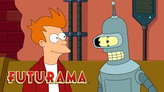 FUTURAMA | Season 10, Episode 7: Dramatic Career Pause | SYFY - SYFY