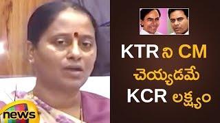 Konda Surekha Unknown Facts about KCR's Family Politics | Konda Surekha Latest News | Mango News - MANGONEWS