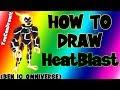 How To Draw Heatblast from Ben 10 Omniverse ✎ YouCanDrawIt ツ 1080p HD