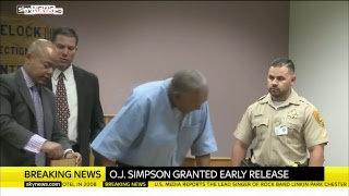 OJ Simpson's parole hearing decision - SKYNEWS