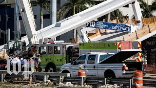 Lawsuit related to FIU bridge collapse is filed - WASHINGTONPOST