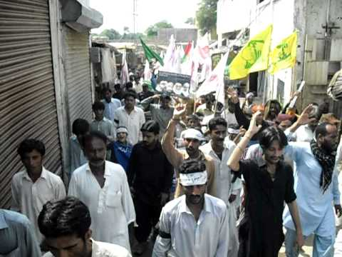 2010 youm al quds rally in matli by Asgharia Organization Pakistan 1