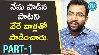 Singer Gowtham Bharadwaj Exclusive Interview Part #1 || Talking Movies With iDream - IDREAMMOVIES