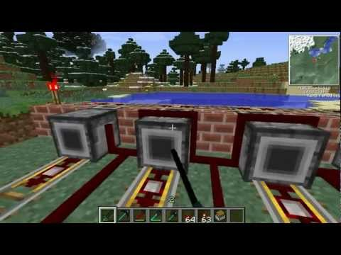 Tekkit Adv-Build 3:  Elevator, Reed farm, Cannon