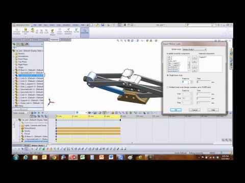 SolidWorks Simulation - Import Motion Loads to Stress Analysis