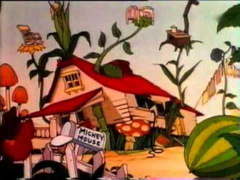 Myszka Miki - Ogród Mikiego
