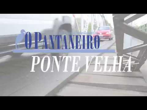 Ponte Velha passa a fazer jus ao nome e vira desafio para quem passa a pé ou de moto
