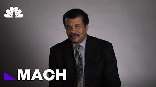 Could Cosmic Interloper Be An Alien Spacecraft? Neil DeGrasse Tyson Isn't Sure | Mach | NBC News - NBCNEWS