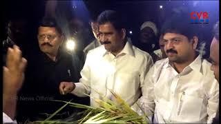 Minister Devineni Uma and Kollu Ravindra assurance to farmers over phethai destroys crops | CVR News - CVRNEWSOFFICIAL