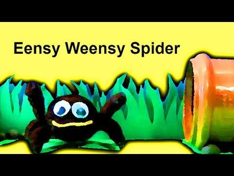 Muffin Songs – Eensy Weensy Spider (Itsy Bitsy) Tekerlemeler ve İngilizce Çocuk Şarkıları