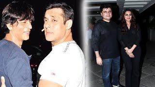 Shahrukh Khan & Salman Khan's patch up creates buzz, Bollywood Stars at Goldie Behl & Sonali Bendre