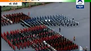 WATCH FULL l Beating The Retreat ceremony 2015 - Part I - ABPNEWSTV