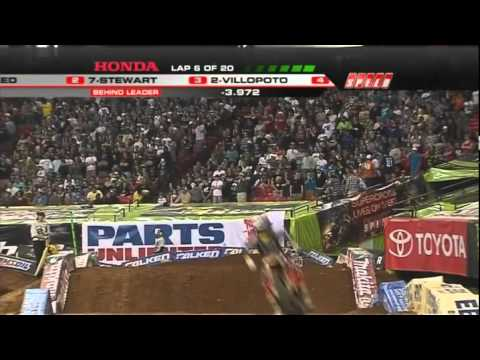 AMA Supercross 2011 RD8 Atlanta 450 Main Event 1/2