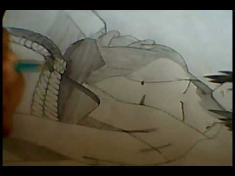 Tutorial como dibujar a Sasuke Uchiha Shippuden/How to draw Sasuke