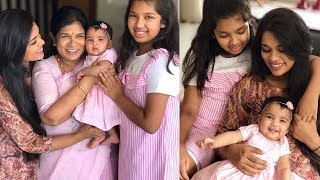 Sreeja Konidela Adorable Moments With Her Daughters Nivrithi & Navishka - RAJSHRITELUGU