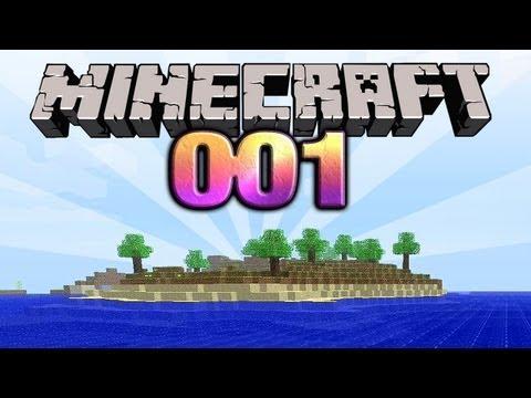 Lets Play Minecraft #001 Deutsch HD Alles auf Anfang