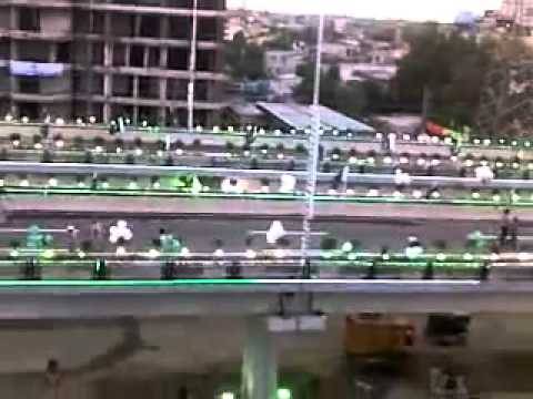 Kalma Chowk Flyover Preparing for Opening Ceremony
