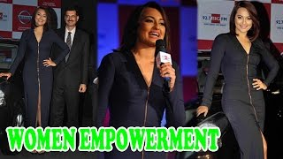 Sonakshi Sinha's take on Deepika Padukone's woman empowerment video controversy | Bollywood News