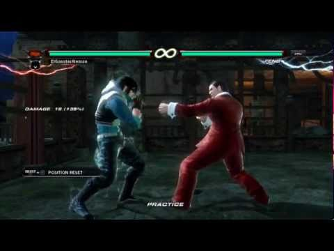 Tekken 6: Steve Fox Combo Video - ''Hunter''