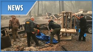 California wildfires: 31 dead, over 200 missing - THESUNNEWSPAPER