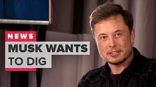 Elon Musk's Boring Company wants to dig under LA - CNETTV