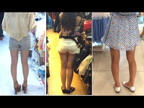 Girl Legs: Korea vs Japan vs China