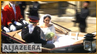 Royal wedding: Prince Harry and Meghan Markle are married - ALJAZEERAENGLISH