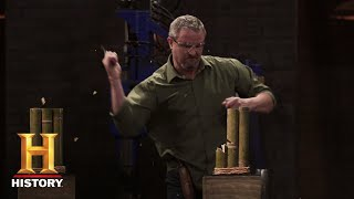 Forged in Fire: Friction Folder Tests (Season 5, Episode 4) | History - HISTORYCHANNEL