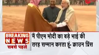 Breaking News: PM Narendra Modi is my older brother, says Mohammed bin Salman - ZEENEWS