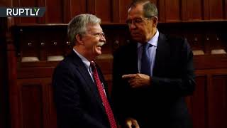 Trump's security advisor Bolton meets with Lavrov in Moscow (STILLS) - RUSSIATODAY