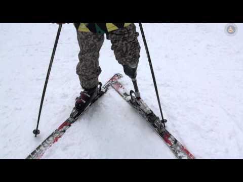 Amputiert Prothese Ski Carve Pro