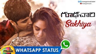 Best Love WhatsApp Status Video | Sakhiya Video Song | Goodachari Songs | Adivi Sesh | Mango Music - MANGOMUSIC