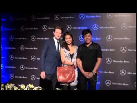Mercedes-Benz Show Room Opening Ceremony In Myanmar