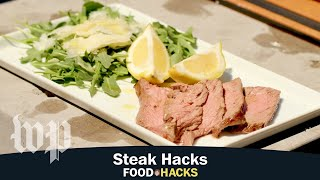 Steak Hacks | Mary Beth Albright's Food Hacks - WASHINGTONPOST