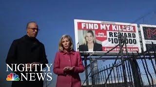 Three Billboards In Baltimore: Woman Hunts For Twin's Killer | NBC Nightly News - NBCNEWS