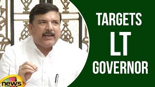 AAP leader Sanjay Singh targets Lt Governor, Modi against Delhi Government | Mango News - MANGONEWS