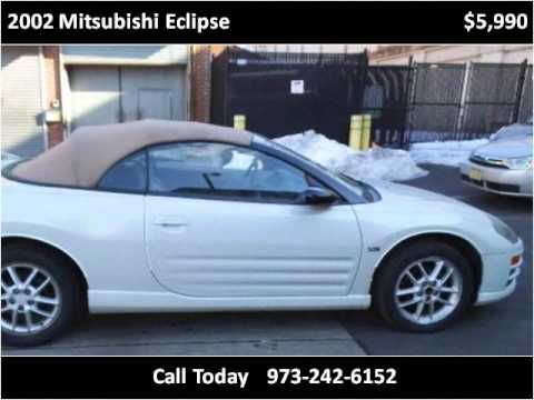 2002 Mitsubishi Eclipse Used Cars Newark NJ