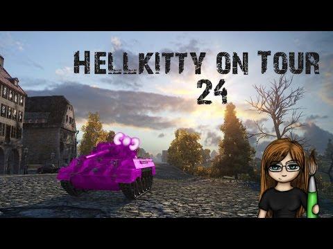 World of Tanks - Hellkitty on Tour #24 [HD] [German]