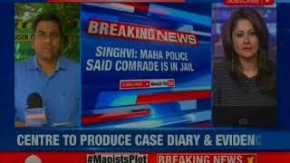 Bhima Koregaon case: SC resumes hearing on 5 LEFT activist - NEWSXLIVE