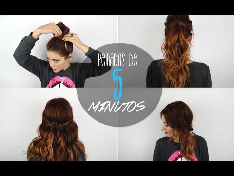 MISS CUCU Peinados rapidos de 5 minutos!! (sin trenzas)